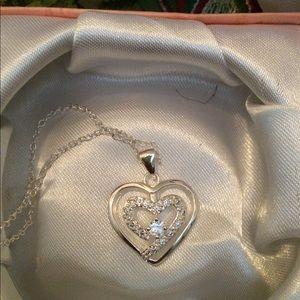 Jewelry - 💙Brighton Amalfi Bubble Heart Necklace 💙